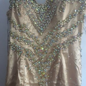 MnM couture gown size 14